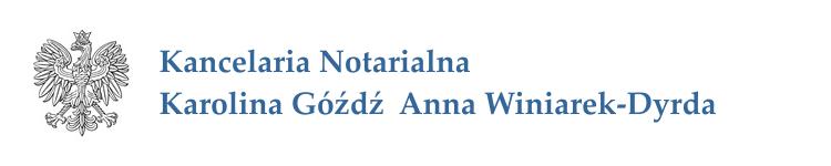 """Kancelaria Notarialna Karolina Góźdź - """"Lex est quod notamus"""""""